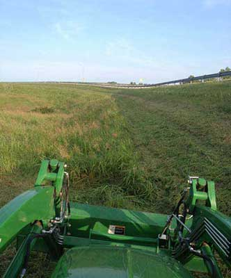 Highway mowing contracts require specific skills and equipment