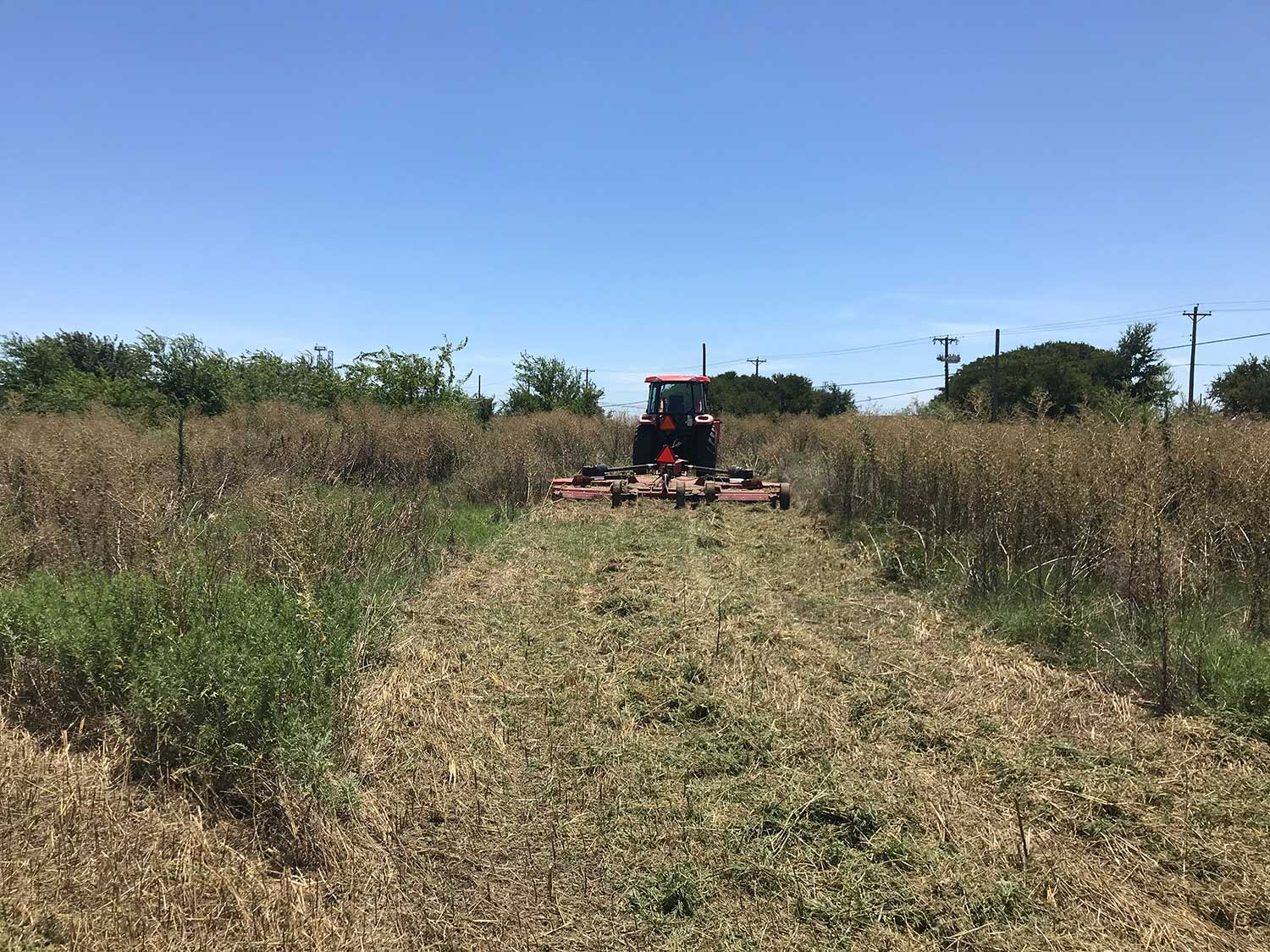 Tough terrain for pipeline mowing contracts