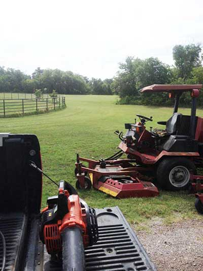 Information about lot mowing