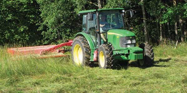 pasture shredding
