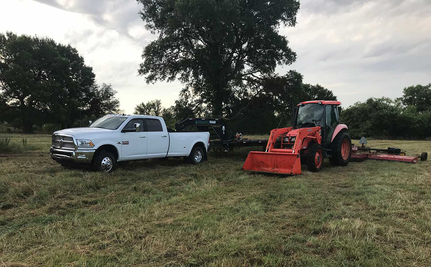What do you look for in a lot mowing service?