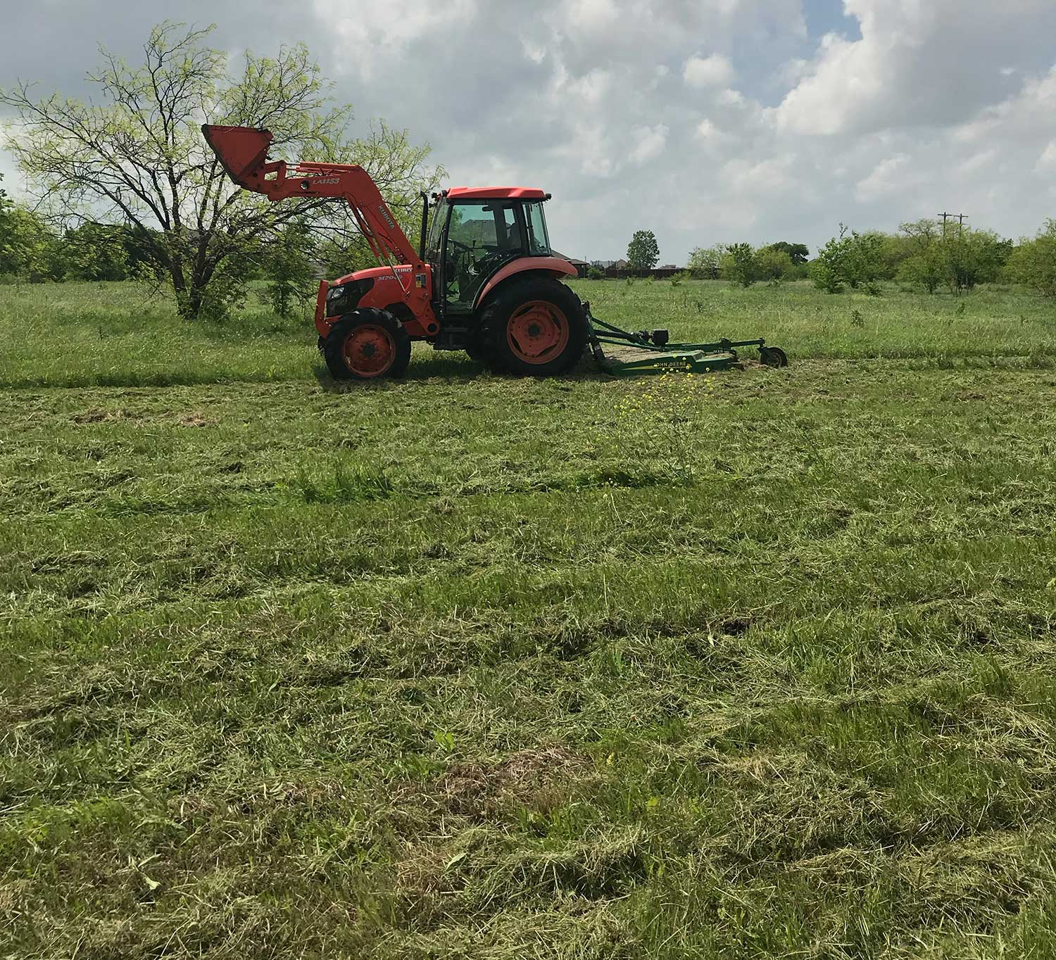 pasture mowing cost